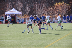 Field hockey semi-final vs. Babson by Hannah Degner '15 Photography Editor