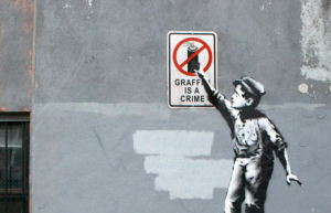 Hey, man, aren't you British? Banksy's October residency in NYC